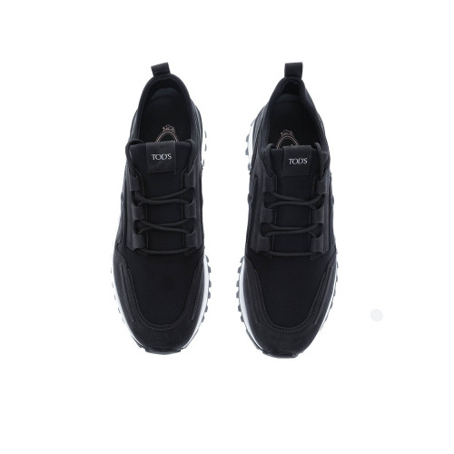 """New Running Scuba"" Nubuck sneakers with rubber insertions"