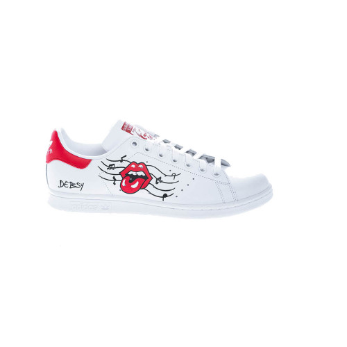 """""""Rolling Stone"""" Sneakers with handpainted design"""