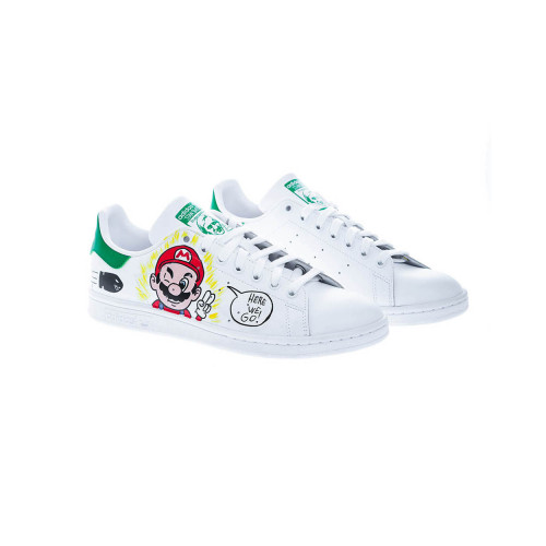 Achat Mario Bros Sneakers with handpainted design - Jacques-loup