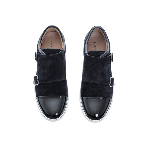 Achat Leather derbys with 2 buckles - Jacques-loup