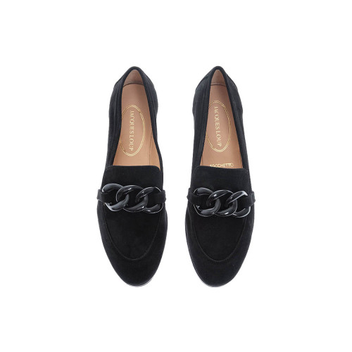 Achat Suede moccasins with bakelite links - Jacques-loup
