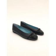Achat Leather ballerinas with... - Jacques-loup