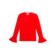 Merino wool jumper with...