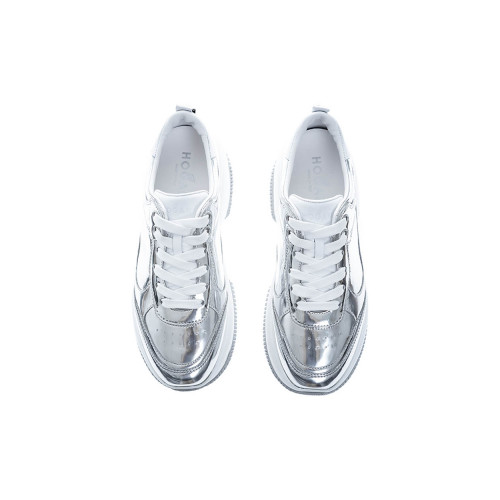 Achat Maxi I Active Leather low-top sneakers with mirror effect - Jacques-loup