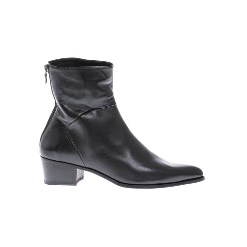 Achat Leather boots with pointed toe and stitched cuttings 30 - Jacques-loup