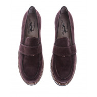 Achat Suede moccasins with decorative tab - Jacques-loup