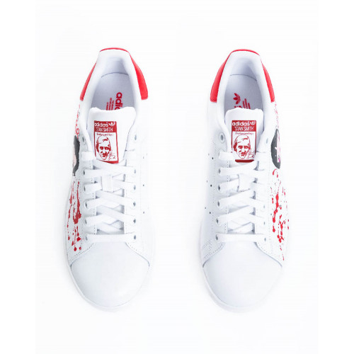 "Sneakers Adidas by Debsy ""Casa del Papel"" white for women"
