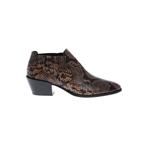 Achat Leather low boots with... - Jacques-loup