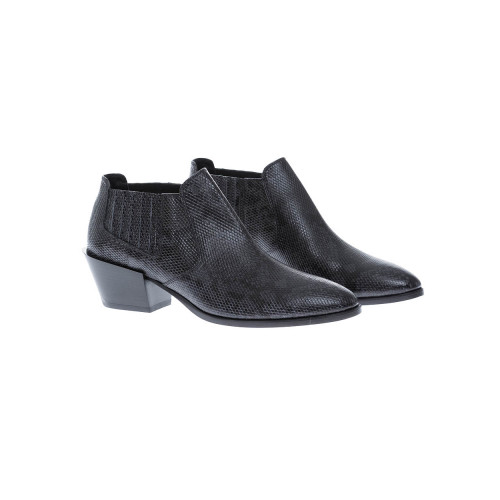 Achat Low boots in leather with... - Jacques-loup