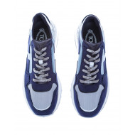 Achat Sportiva Allacciata Split leather sneakers thick outer sole 50 - Jacques-loup