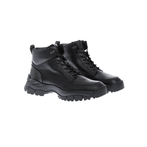 Achat Mountain Leather boots with reinforced fluffy parts - Jacques-loup
