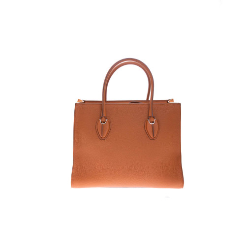 Achat Shopping - Leather bag with... - Jacques-loup