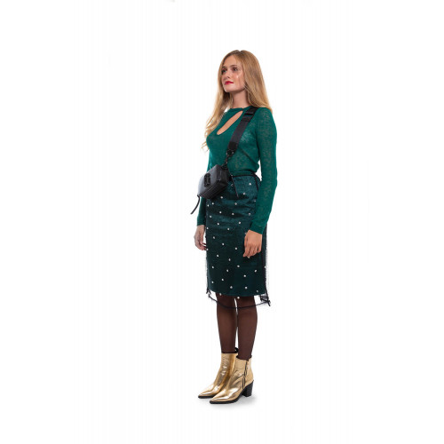 Achat Mesh over-skirt decorated with stones - Jacques-loup