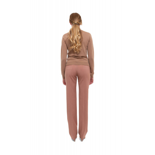 Achat Straight wool trousers with pleats - Jacques-loup