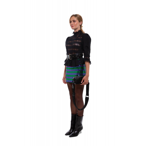 Achat Short skirt with striped sequins - Jacques-loup