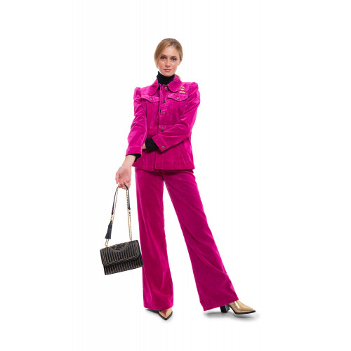 Achat The Velveteen Jean Cotton jacket and trousers flared style - Jacques-loup