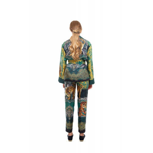 Achat Silk suit with Tiger print - Jacques-loup