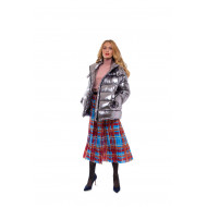 Oversized fluffy jacket 100% goose down with removable hood