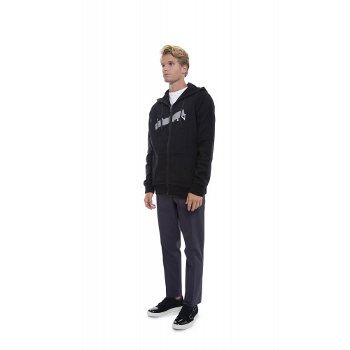 Achat Cotton sweatshirt with reflective strip - Jacques-loup