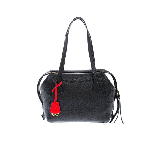 Achat Perry Satchel Leather bag with large opening - Jacques-loup