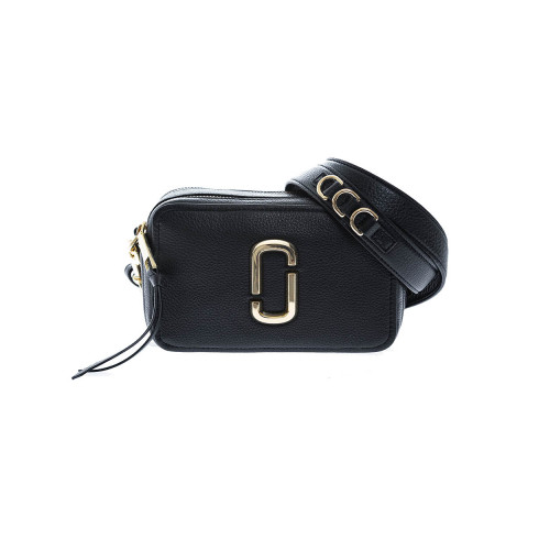 Achat The Softshot 21 Leather bag rectangular shape gold logo - Jacques-loup