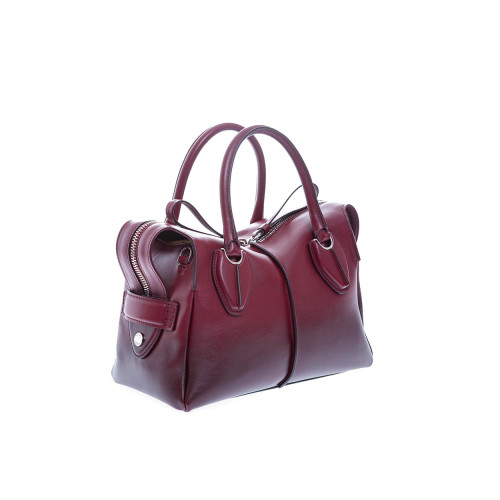 """D-Styling Petit"" Leather bag with bordeaux gradient"