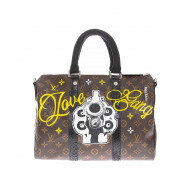 """Love Gang"" bag with python..."
