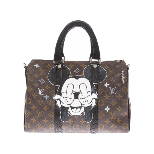 Achat Mickey Fck - Customized bag... - Jacques-loup