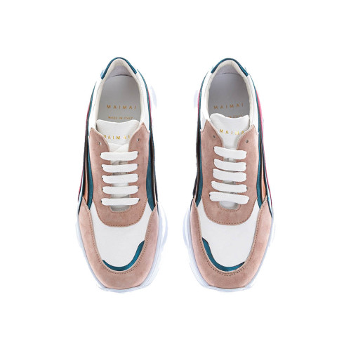Achat Leather sneakers with... - Jacques-loup