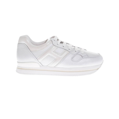 Achat H222 Leather and suede sneakers with lizard  40mm - Jacques-loup