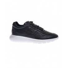 """""""Interactive"""" Nubuck sneakers with padded and stitched H"""