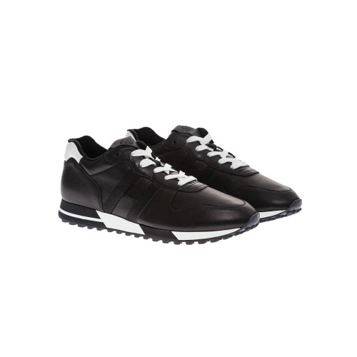 Achat Running H86 Nappa leather sneakers with contrasting buttress - Jacques-loup