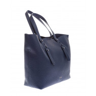 Achat Grained leather shopping bag with handles - Jacques-loup
