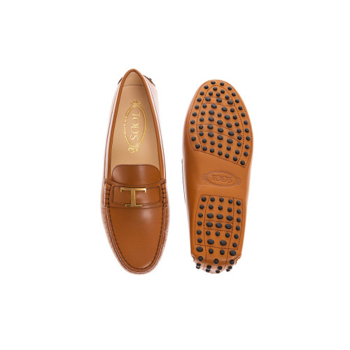Achat Gomini Patina leather moccasins with decorative bit - Jacques-loup