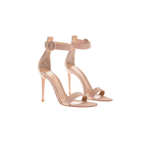 Achat Portofino Suede sandals with one strip 105mm - Jacques-loup