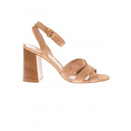 Achat Beya Suede sandals with ankle strap 85mm - Jacques-loup