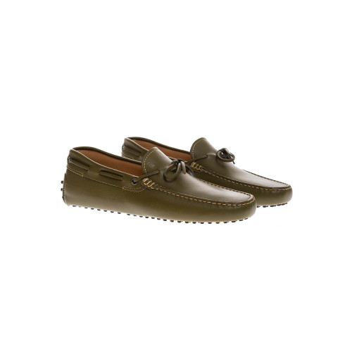 Achat Gomini Lacetto Leather moccasins with decorative laces - Jacques-loup