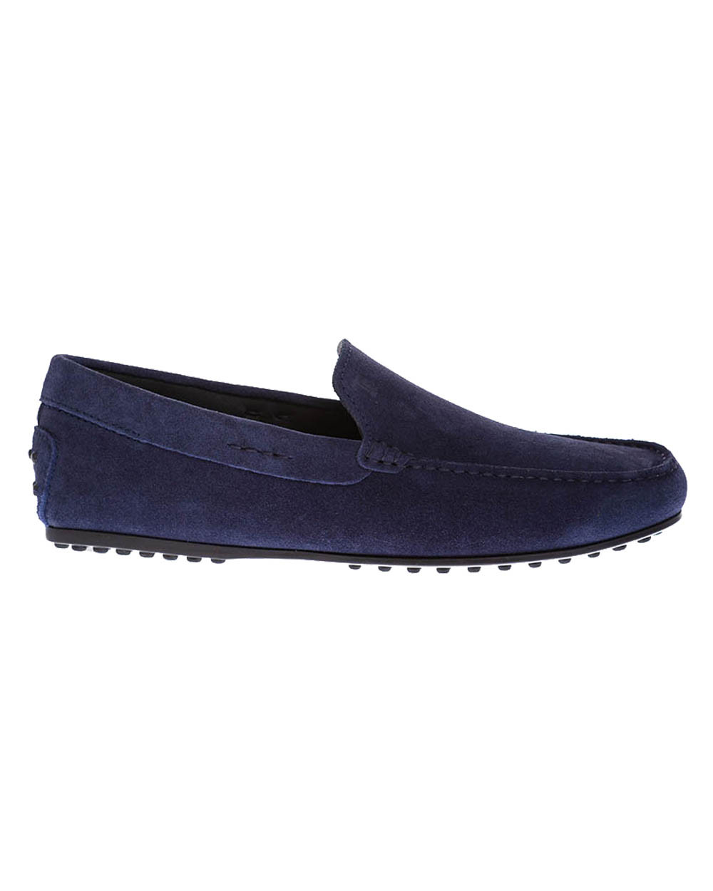 """""""City Gomini"""" Split leather moccasin with stitched upper"""