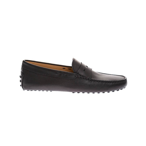 Achat Gomini Smooth and flexible leather moccasins with penny strap - Jacques-loup