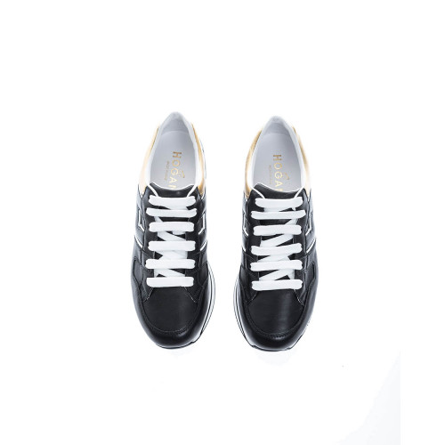Achat 222 Leather low-top sneakers applied logo - Jacques-loup