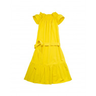 Achat Silk and cotton dress with... - Jacques-loup