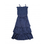 Achat Cotton strapped dress with... - Jacques-loup