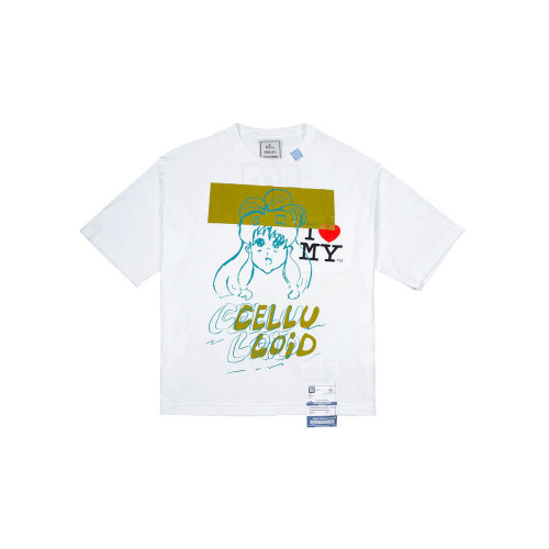 Achat Cotton T-shirt with fantasy... - Jacques-loup