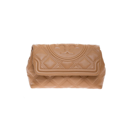 Achat Nappa leather quilted clutch bag with flap - Jacques-loup