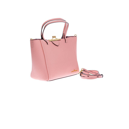 Achat Sac cabas Marc Jacobs The Kiss Lock Tote rose saumon - Jacques-loup