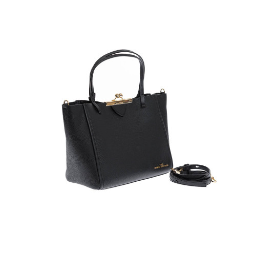 Achat Sac cabas Marc Jacobs The Kiss Lock Tote noir - Jacques-loup