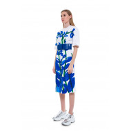 Achat Cotton T-shirt dress with floral print - Jacques-loup