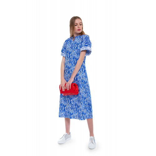 Achat Large cotton dress with fantasy print - Jacques-loup