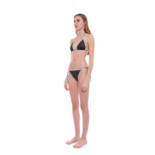 Achat Bikini glossy with FF prints and silver details - Jacques-loup