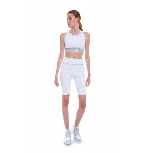 Achat Small top with crossed silver straps - Jacques-loup